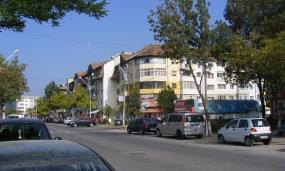 Centrul municipiului Moreni