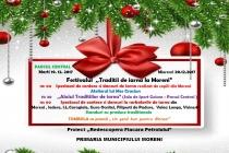 """Festivalul """"Tradiții de iarnă la Moreni"""""""