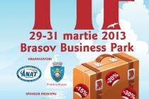 Primăria Municipiului Moreni va participa în perioada 29-31 Martie 2013 la Târgul de Turism Transylvania Tourism Fair, Braşov