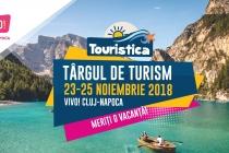 Târgul de Turism Touristica Cluj, in perioada 23-25 noiembrie  2018
